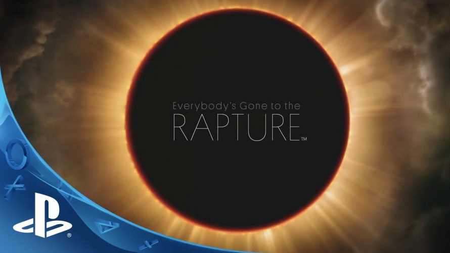 De nouvelles infos pour Everybody's gone to the rapture