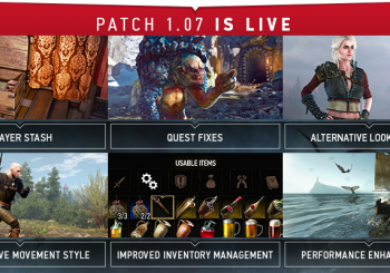 The Witcher 3 : Le gros patch 1.07 est disponible