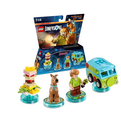 Lego Dimensions pack scooby-doo