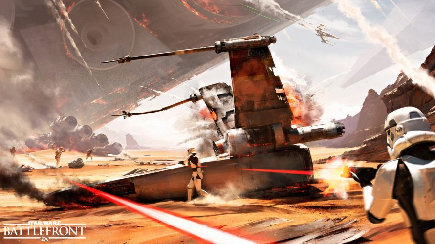 Star Wars Battlefront : Trailer de gameplay de la Bataille de Jakku