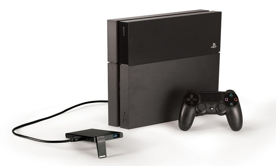 Sony : un pico projecteur compatible PS4