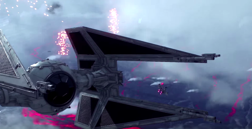 [GC 2015] Star Wars Battlefront : le mode Fighter Squadron en vidéo