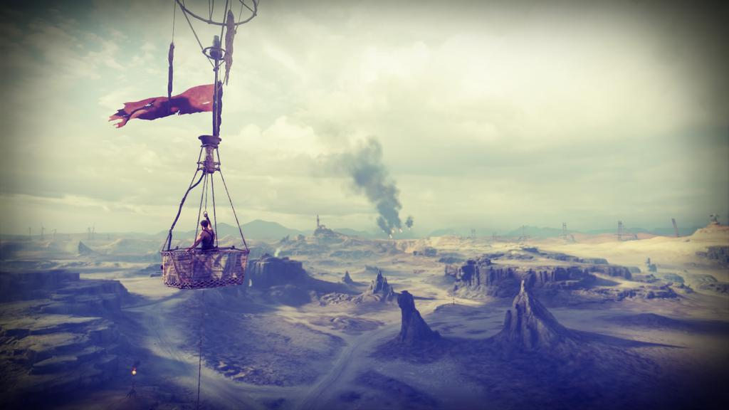 Mad Max PS4 mode photo