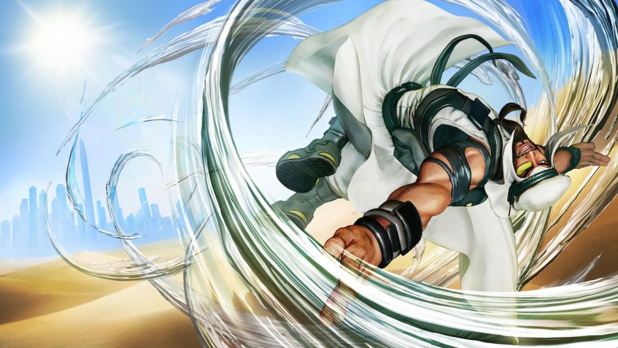 Street Fighter 5 : le plein de screenshots pour Rashid