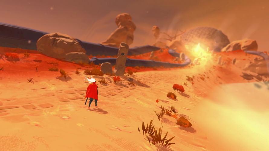 The Game Bakers dévoile Furi, un beat them all prévu sur PS4 et PC