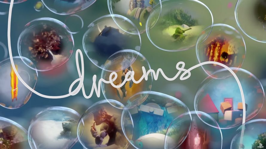 La beta de Dreams sur PS4 en approche