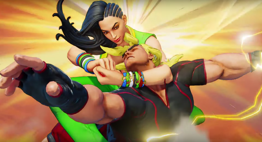 Street Fighter 5 : Laura s'illustre en vidéo