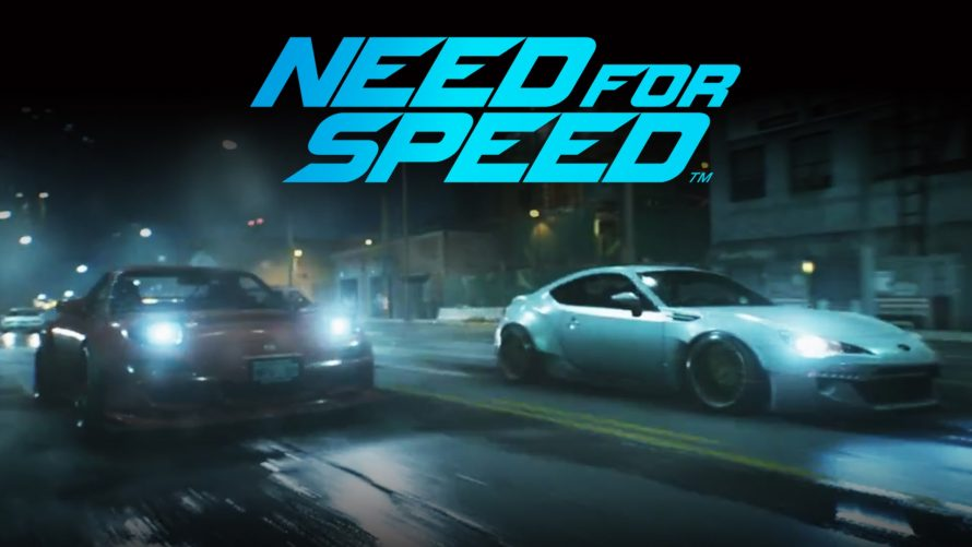 Need for Speed : Le trailer de lancement