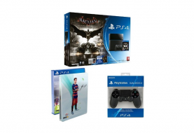 [Bon Plan] PS4 500 Go + Batman Arkham Knight + FIFA 16 + 2ème DualShock 4 à 399€
