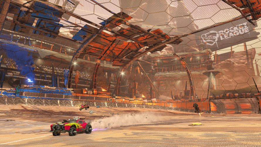 Rocket League : le DLC Chaos Run se présente