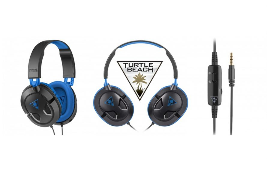 TEST | Casque Turtle Beach EAR FORCE Recon 60P PS4/PS3/PSVITA