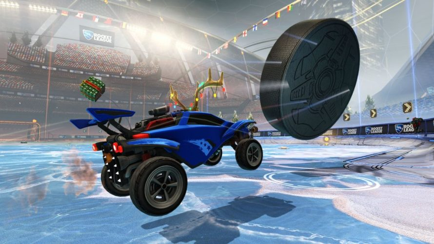 Rocket League : La mise à jour gratuite avec le hockey disponible