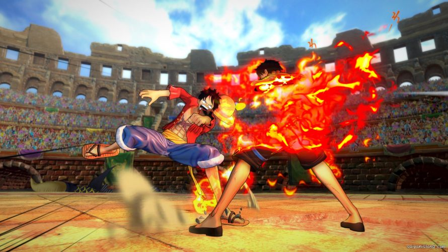 Nouvelle vidéo de One Piece: Burning Blood