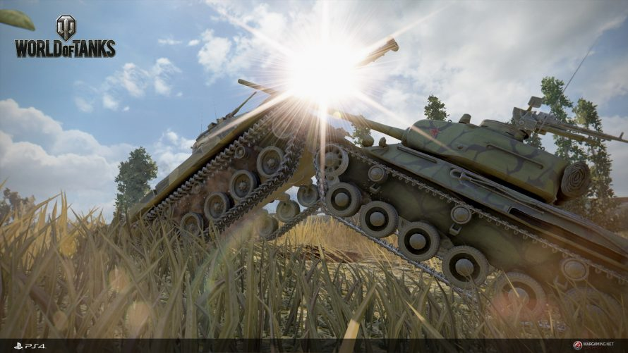 Une seconde bêta ouverte de World of Tanks disponible ce week-end