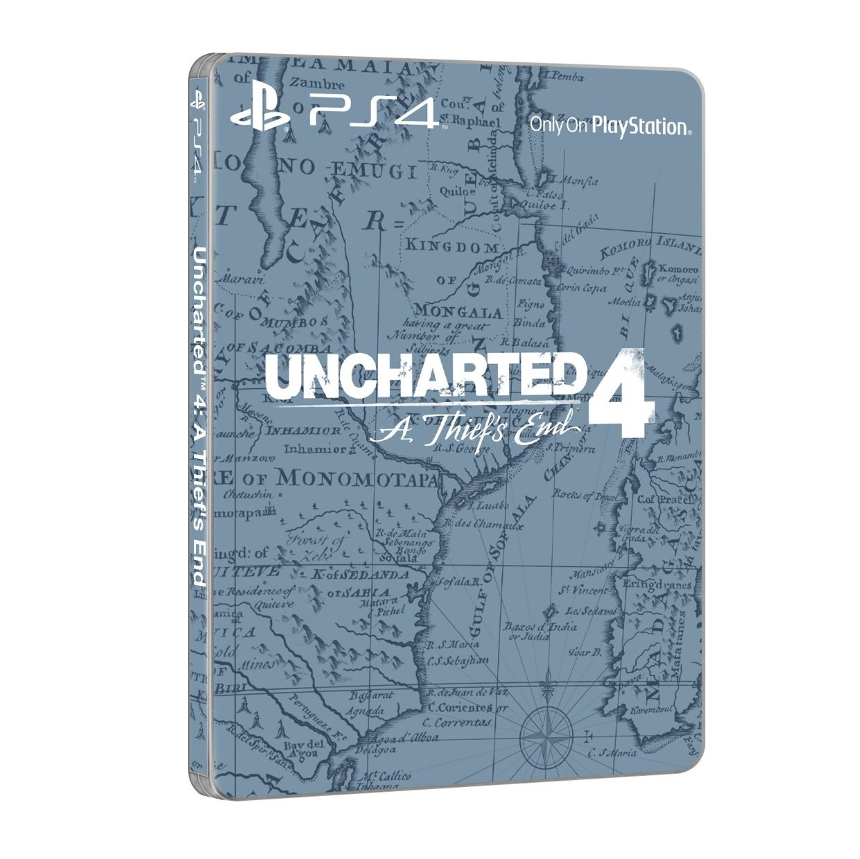 uncharted 4 steelbook edition
