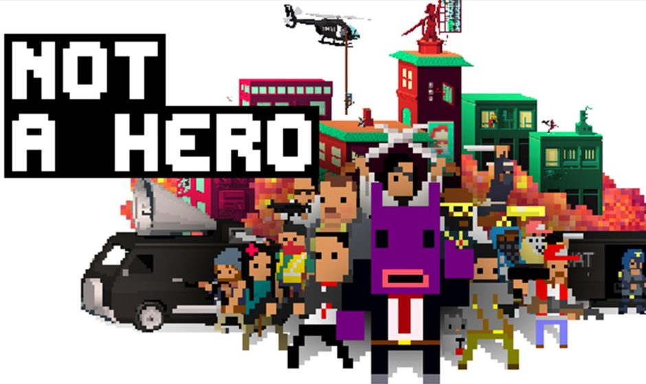 TEST | Not a Hero sur PS4
