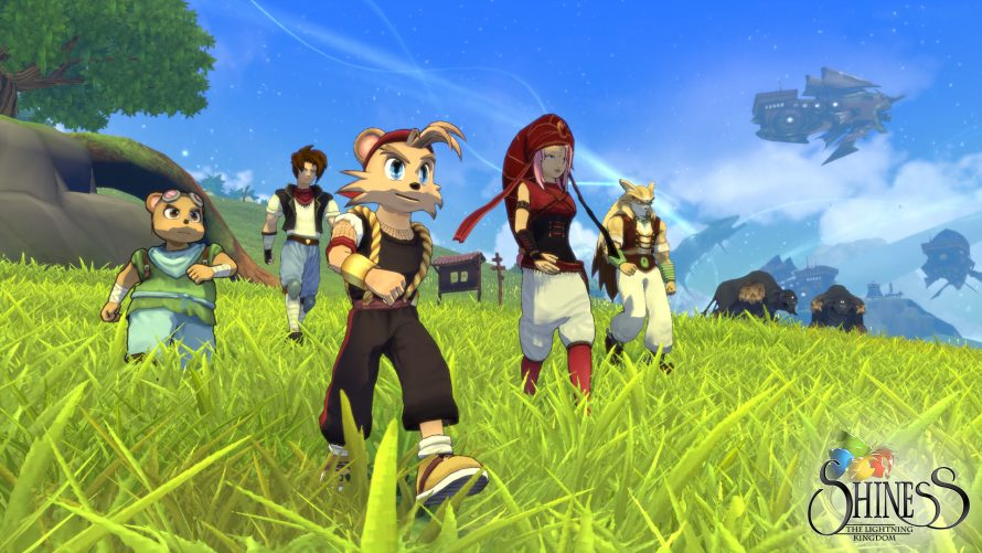 Shiness: The Lightning Kingdom – Les premiers tests