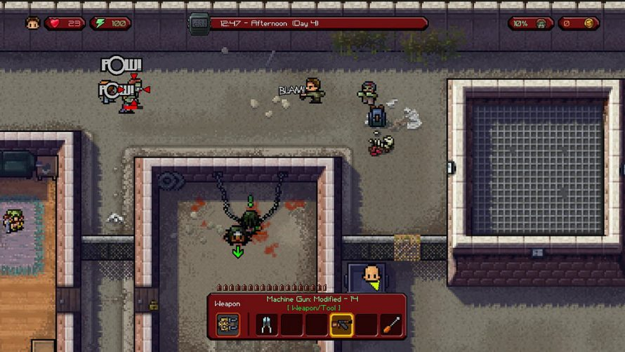 The Escapists The Walking Dead arrive en Février sur PS4