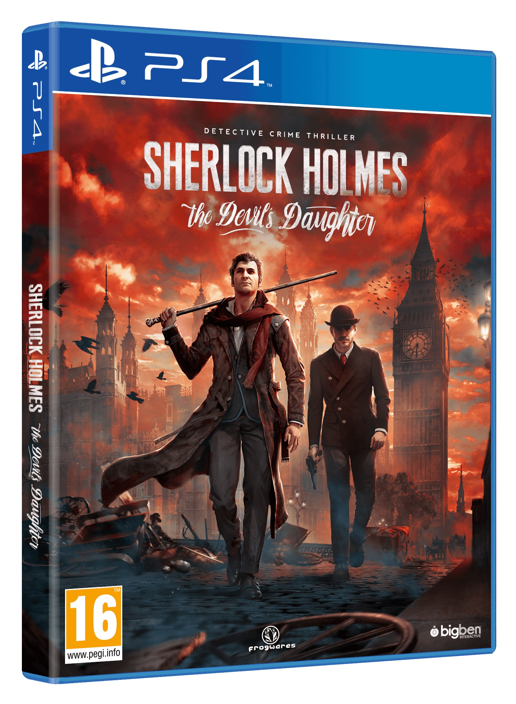 Sherlock Holmes The Devil's Daughter_PS4