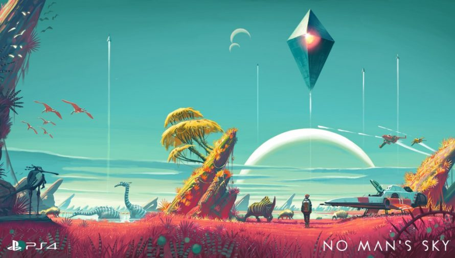 Sony officialise le report de No Man's Sky
