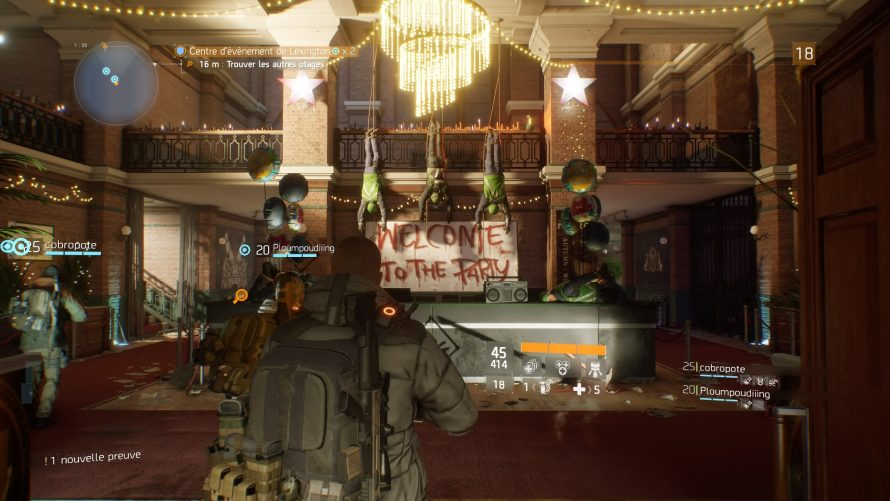 The Division : un glitch dans le Centre d'événement de Lexington