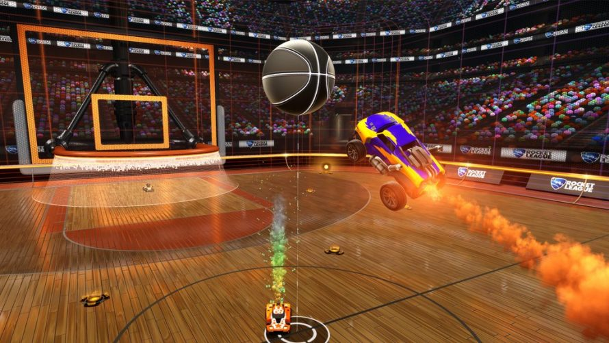 Le basketball gratuit pour avril sur Rocket League