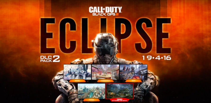 Black Ops 3 : Le DLC Eclipse disponible le 19 avril sur PS4