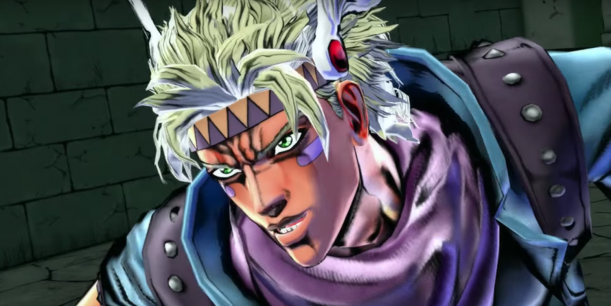 Jojo's Bizarre Adventure: Eyes of Heaven – Les personnages de Battle Tendency en vidéo