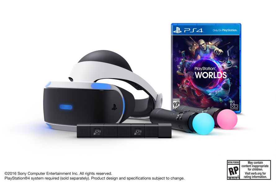 Le bundle PlayStation VR + PS Move + PS Camera confirmé