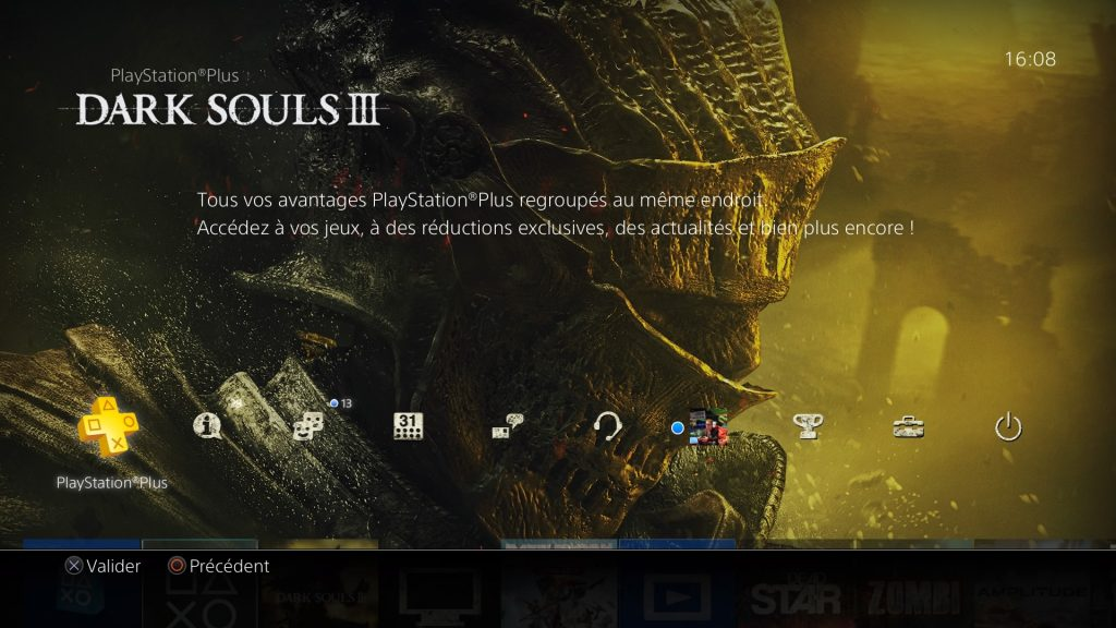 Screenshot theme PS4 dark souls 3 2