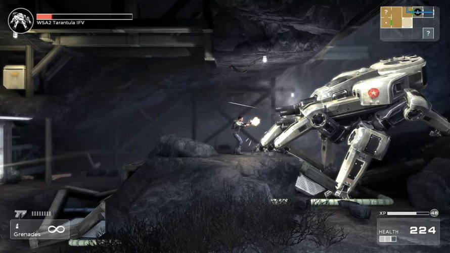 Shadow Complex Remastered se trouve une date sur PS4