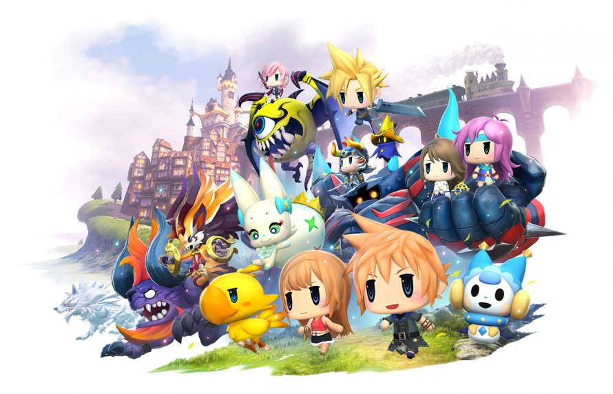 World of Final Fantasy : Une vidéo de gameplay sur PS4