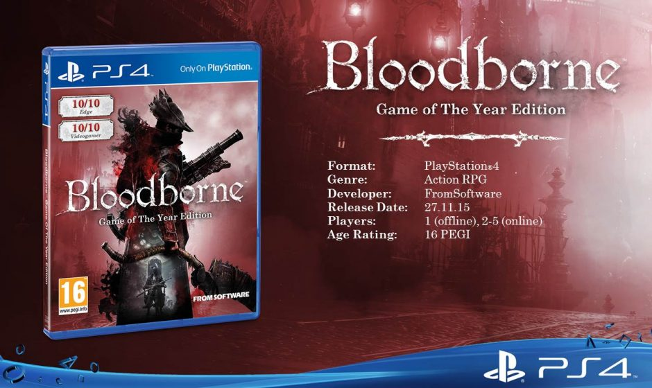 Bloodborne GOTY Edition à 29,99€ sur le PlayStation Store