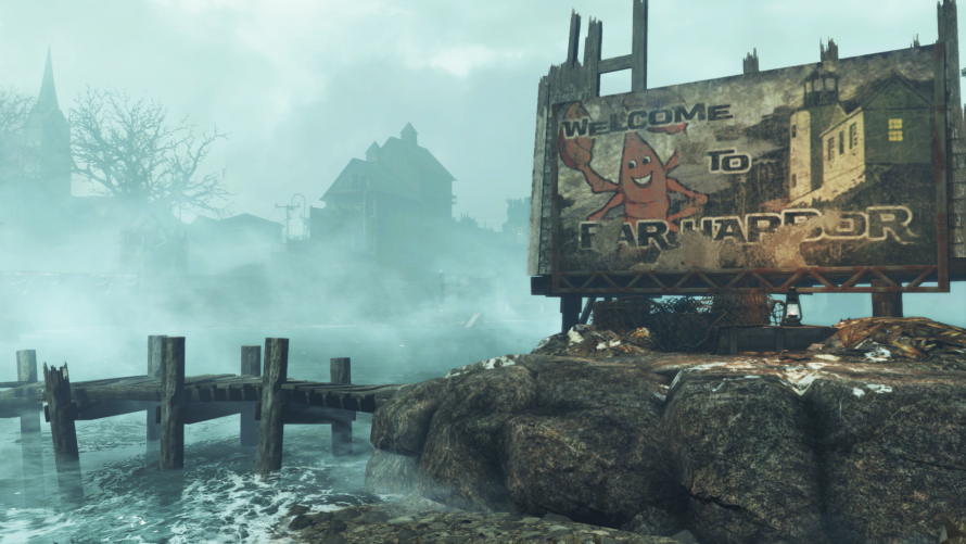 Fallout 4 Far Harbor : Un patch arrive sur PS4