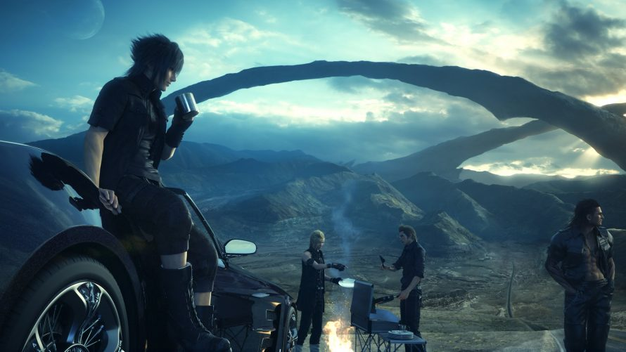 Final Fantasy XV : Du Chocobo, du camping et bien plus en images
