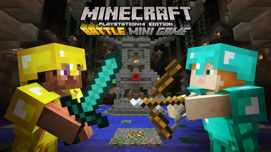 Minecraft: Battle Mini Game arrive sur PS4