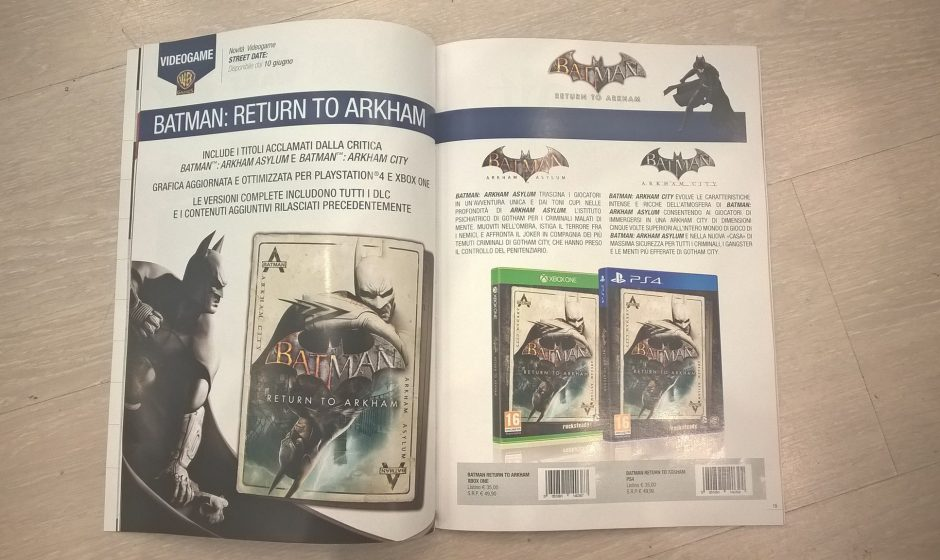 Batman : Return to Arkham accueille un patch pour la PS4 Pro