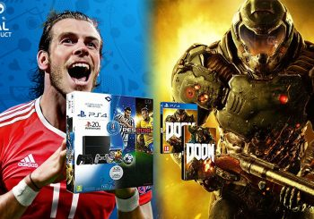 Bon Plan | Pack PS4 1To + PES Euro 2016 + DOOM + 2e manette à 419€