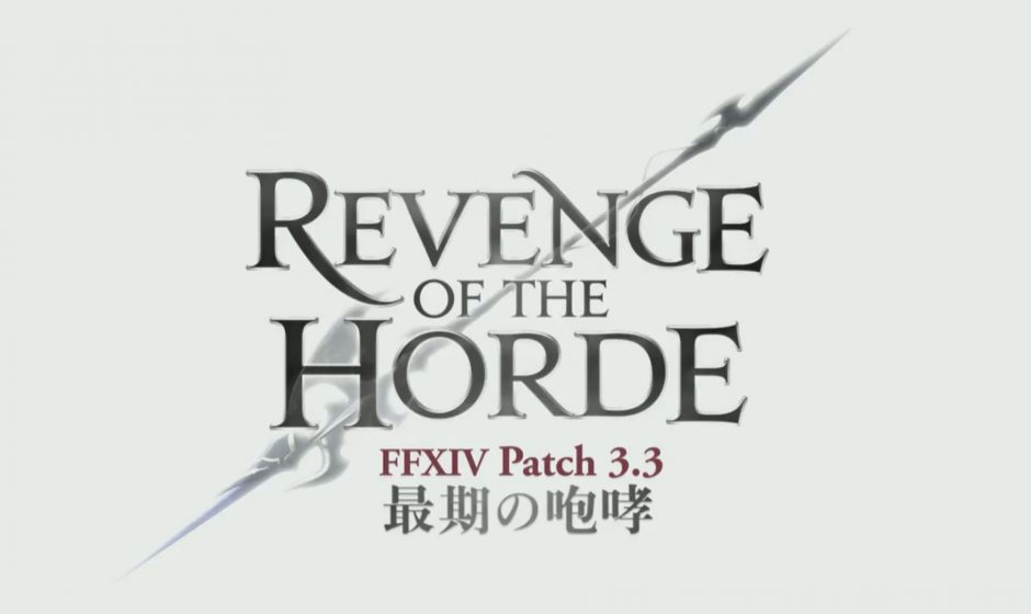Final Fantasy XIV: Nouveau trailer pour Revenge of the Horde