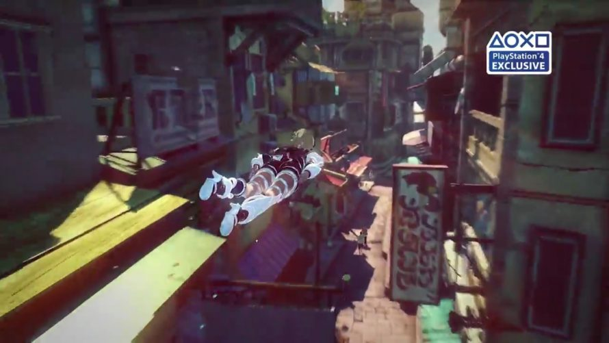 Gravity Rush 2 : Le trailer E3 2016