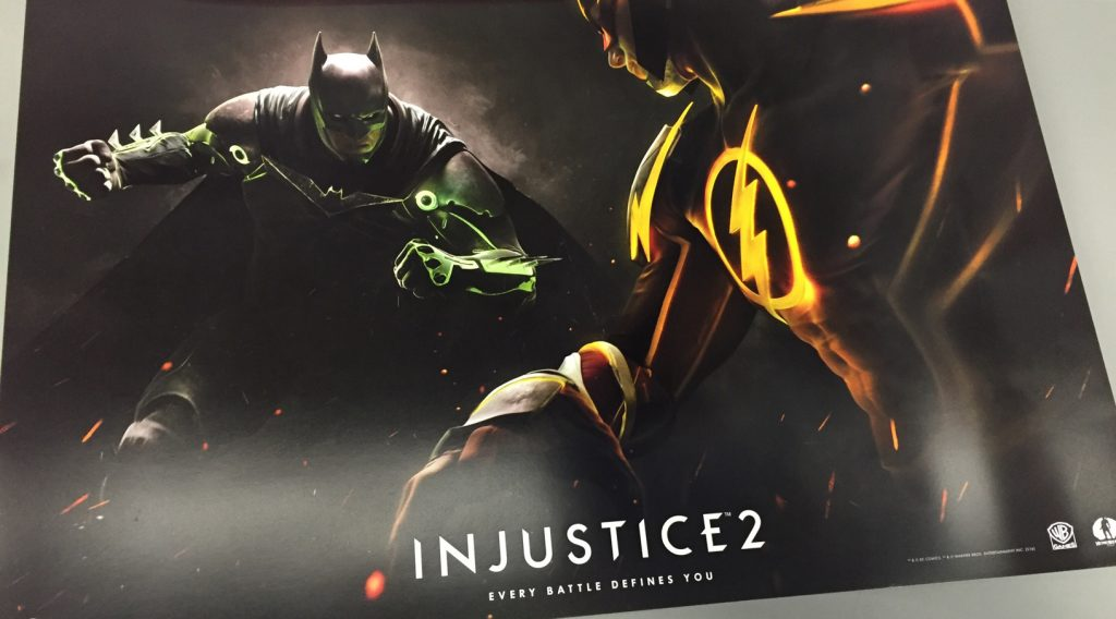 Injustice 2 poster