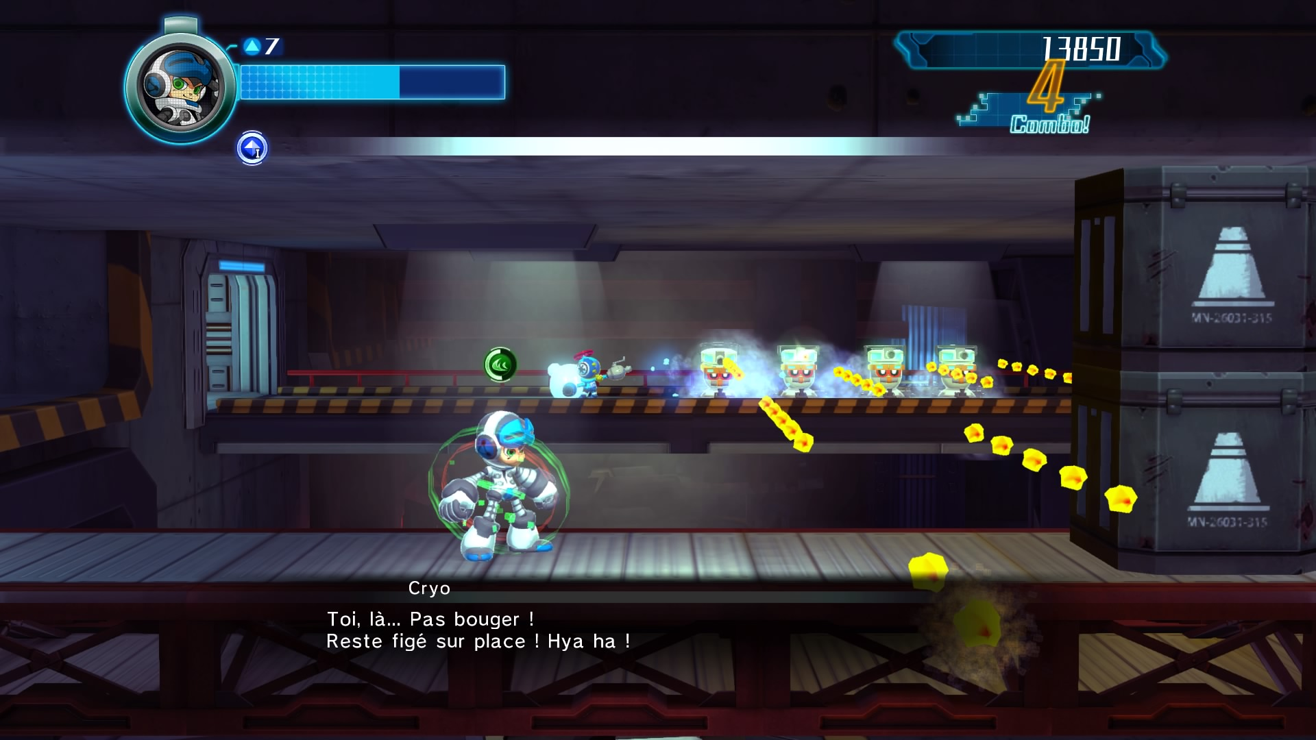 Mighty No. 9 test PS4