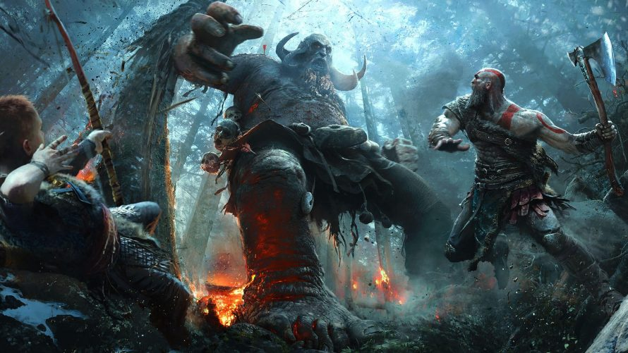 God of War se montre à nouveau en images