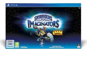 Skylanders Imaginators dévoile sa figurine Crash Bandicoot