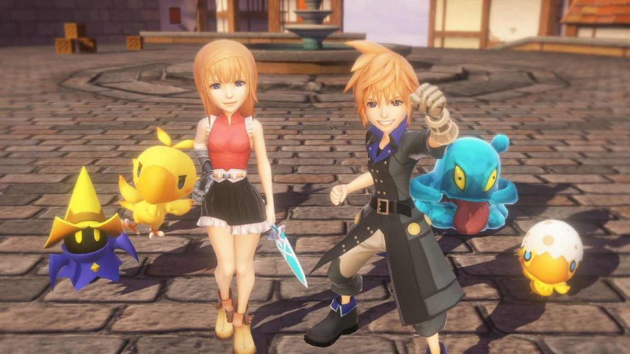 World of Final Fantasy : L'édition collector dévoilée avec un trailer