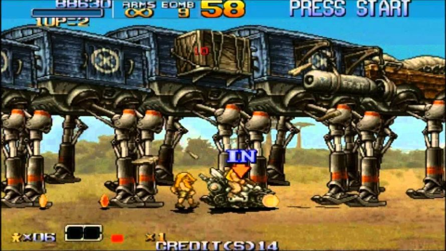 Metal Slug Anthology bientôt disponible sur PS4