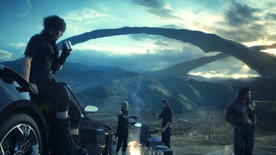 Final Fantasy XV illustre ses armes à feu