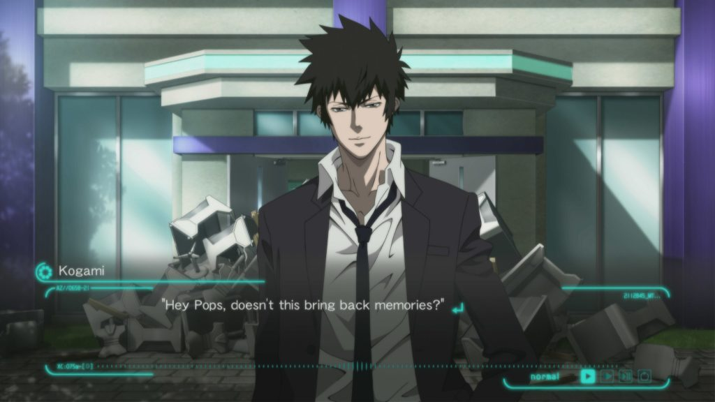 Psycho Pass : Mandatory Happiness