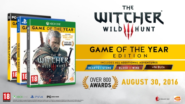 [Concours] 3 packs The Witcher 3: GOTY Edition à gagner !