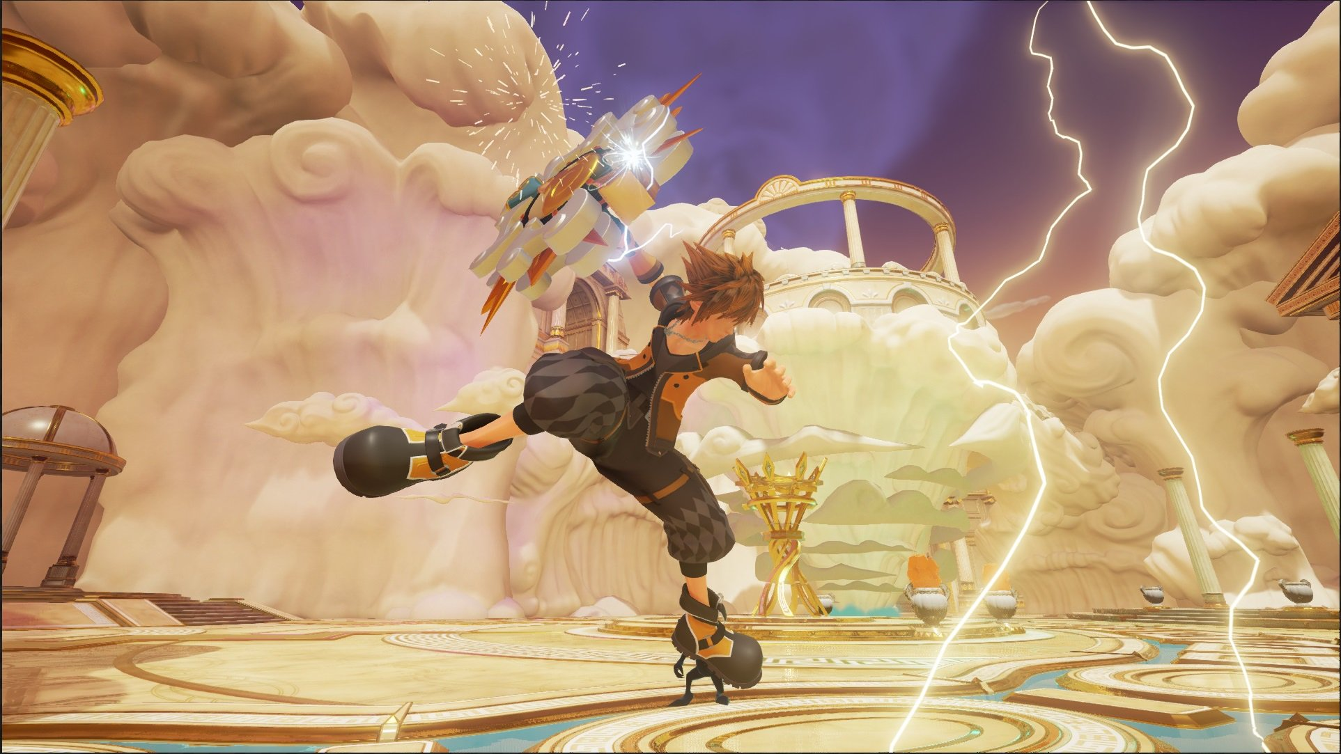 Kingdom Hearts 3 screen